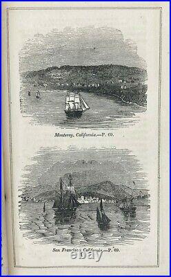 1849 CALIFORNIA OREGON TRAVEL GUIDE Indian GOLD RUSH West PIONEER SAN FRANCISCO