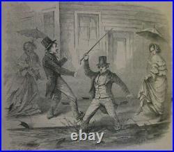 1855 Gold Rush Era Annals of San Francisco, California History Leather