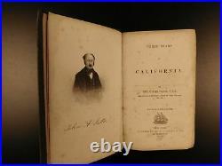 1859 Three Years in California Colton GOLD RUSH Indians San Francisco Sacramento
