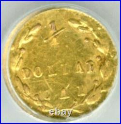 1871 RD LIB G25C California Gold / BG-838 NGC UNC Flashy