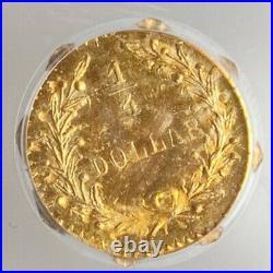 1881 Oct Indian G25C California Fractional Gold / BG-799M PCGS MS65 1 Finer LR5