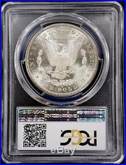 1881 S Morgan Silver Dollar graded MS 68 by PCGS! Colorful obverse rim toning
