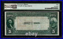 1882 $5 San Francisco CA California First National Bank PMG 30 EPQ Fr532 CH#1741