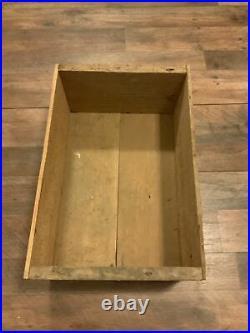 1890s California Powder Works Hercules Dynamite Crate San Francisco CA