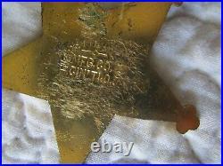 1903 GAR Union Army Badge Civil War 37th Encampment San Francisco California