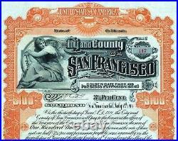 1904 California City and County of San Francisco, Golden Gate Park and Presidio