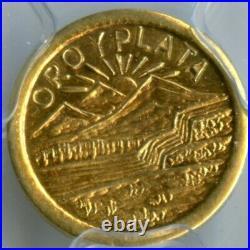 1914 G1$ ME Hart / Montana Gold(California Gold) / X-Tn3 PCGS MS65 POP 1/0