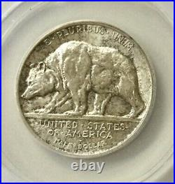 1925S California Commemorative AU58 ANACS Original Coin Nice Lustre looks UNC