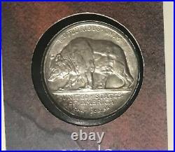 1925 California Diamond Jubilee Comm Silver Half Dollar Coin withCOA