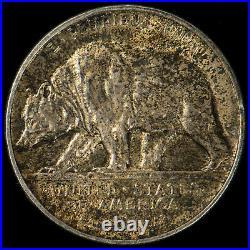 1925-S 50C CALIFORNIA Silver COMMEMORATIVE HALF DOLLAR Lot#R965
