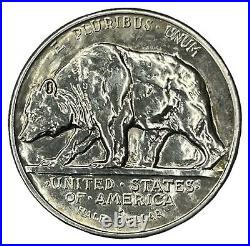1925-S 50C California Jubilee Commemorative Silver Half Dollar AU-UNC #
