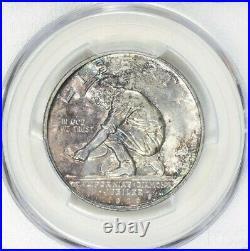 1925-S California 50c PCGS MS 65 Classic Commemorative, Toned original gem