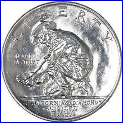 1925 S California Classic Commemorative Half Dollar 90% Silver BU See Pics F811