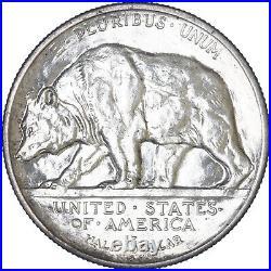 1925 S California Classic Commemorative Half Dollar 90% Silver BU See Pics H427