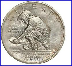 1925-S California Commemorative Half Dollar