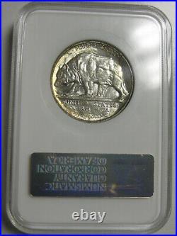 1925-S California Commemorative Half Dollar NGC MS64 #44-005