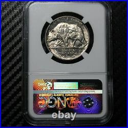 1925 S California Commemorative Half Dollar NGC MS64 (65004)