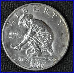 1925 S California Commemorative Half Dollar Very Choice BU