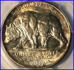 1925-S California Commemorative Silver Half Dollar PCGS MS 65 Mint State 65