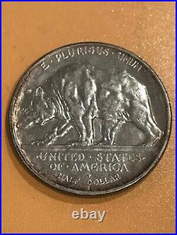 1925-S California Diamond Jubilee Comm Silver Half Dollar Coin
