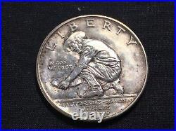 1925 S California Diamond Jubilee Commemorative US Mint Silver Half Dollar Coin