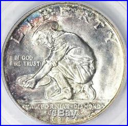 1925 S California Half Dollar Silver Certified PCGS MS66 CAC Diamond Jubilee