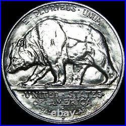 1925-S California J Commemorative Silver Half Dollar GEM BU - #J801