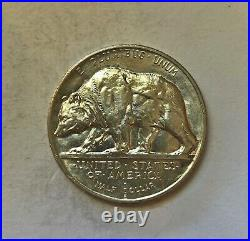 1925 S California Jubilee Commemorative BU Half Dollar