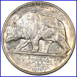 1925-S California Jubilee Commemorative Silver Half Dollar 50C BU