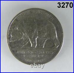 1925 S California Silver Commemorative Half Dollar Choice Bu White! #3270