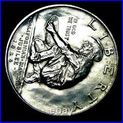 1925-S California Silver Commemorative Half Dollar GEM BU++ STUNNING - #T692
