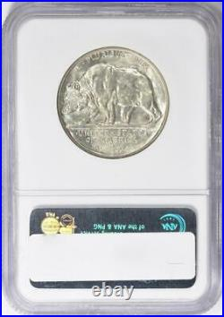 1925-S California Silver Half Dollar Commemorative NGC MS-63 Mint State 63