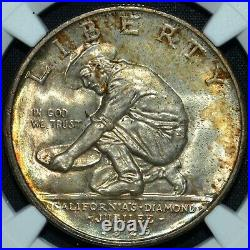 1925-s California Commemorative 50c Ngc Ms-66 Diamond Jubilee L@@k Trusted