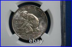 1925-s California Diamond Jubilee Commemorative Half Dollar Nice Ngc Ms64