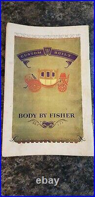 1930 The Automobile Salon Souvenir Catalogue San Francisco RARE