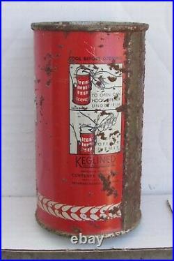 1930s REGAL AMBER BEER, IRTP O/I Flat Top beer can San Francisco California B/O