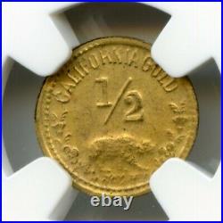 1932 1/2 California Gold LA Olympics Sprinter / NGC MS65 POP 5/3