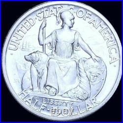 1935 S California Pacific international Exposition Commemorative Half Dollar UNC