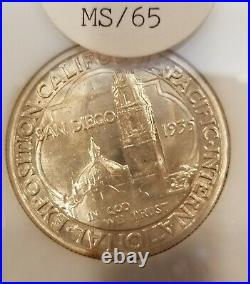 1935-s San Diego California Commerative Half Dollar