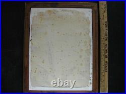 1940s CALIFORNIA SAN FRANCISCO BAY COVE w BOATS WaterColor Painting Pair vintage