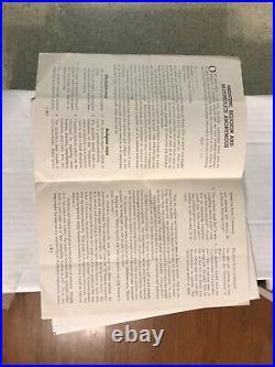 1944 Alcoholics Anonymous Pamphlet San Francisco California Rare