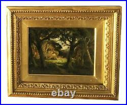 19thc. William Keith Painting Mt. Tamalpais California, Plein Aire San Francisco