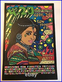420 Hemp Fest'1999 Poster Cannabis Action Network, San Francisco CA