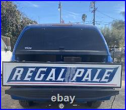 6' Long REGAL PALE BEER Lighted Sign CLASSIC 1950s SAN FRANCISCO, CALIFORNIA