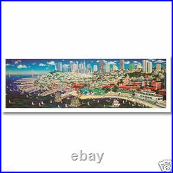 Alexander Chen SAN FRANCISCO PANORAMA California Ltd Ed