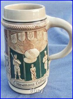 Antique Stein / Mug Newmans College San Francisco California Sports Bar