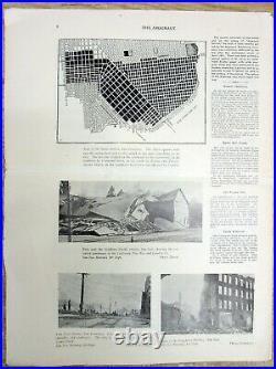 Best 1906 SF CALIFORNIA newspaper wth 24 photos of the SAN FRANCISCO EARTHQUAKE
