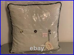 Brand New 2007 Catstudio San Francisco California Embroidered Pillow