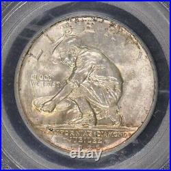 CALIFORNIA 1925-S 50C Silver Commemorative PCGS MS65