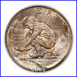 CALIFORNIA 1925-S 50C Silver Commemorative PCGS MS67